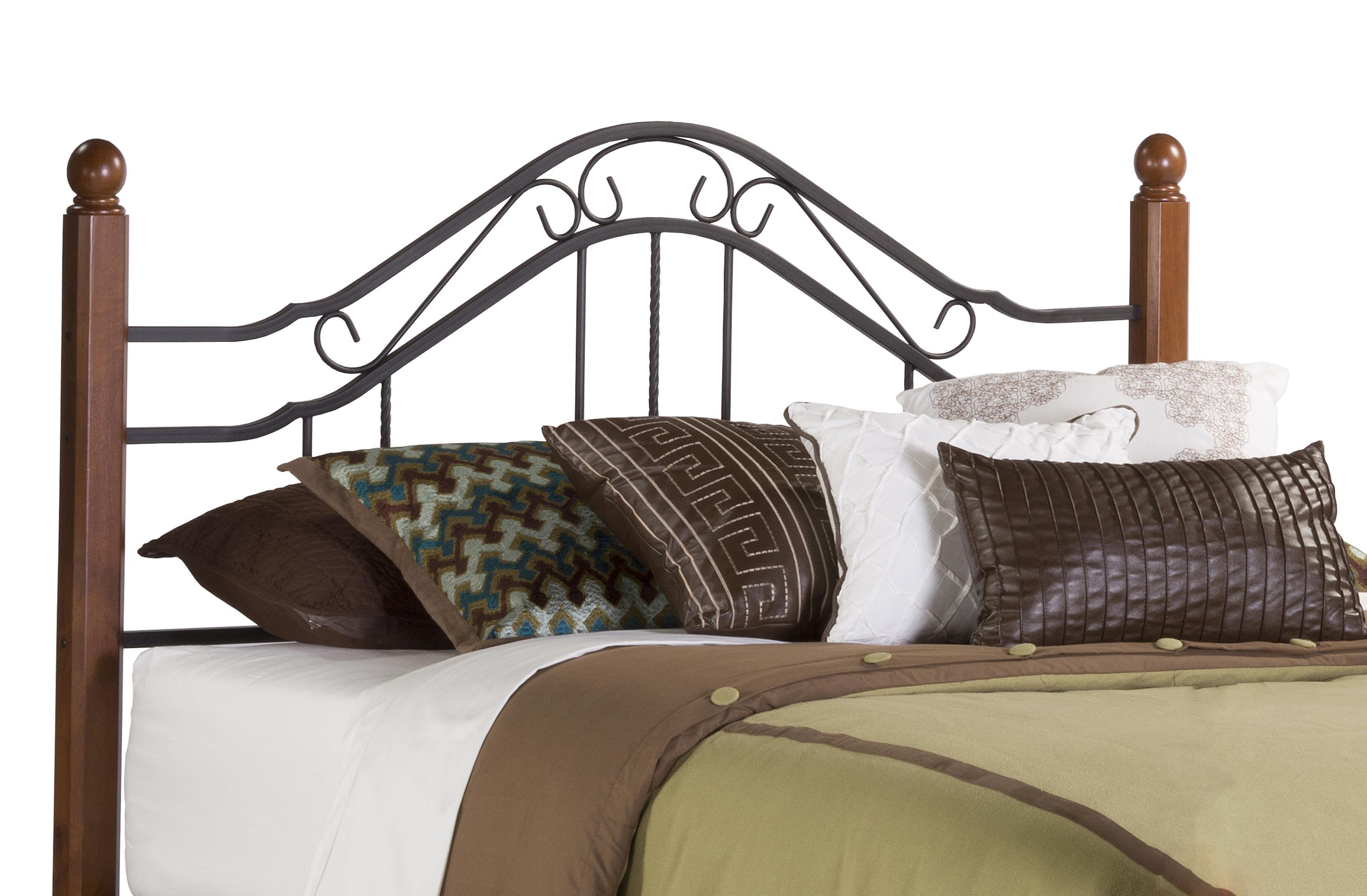 Hillsdale Metal Beds Twin Headboard with Rails - Item Number: 1010HTWR