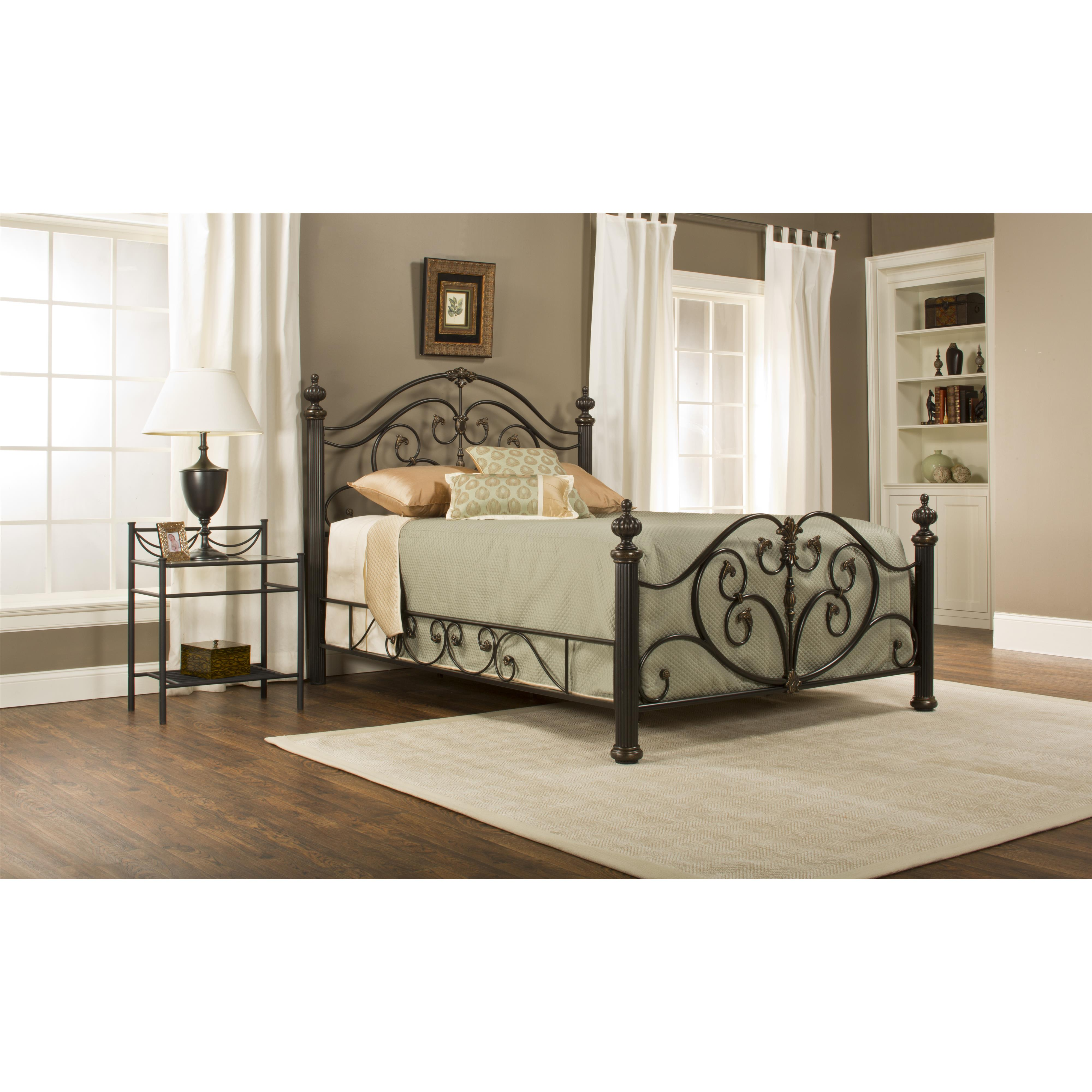Hillsdale Metal Beds Grand Isle King Bed Set - Item Number: 1012BKR