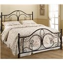 Hillsdale Metal Beds Full Milwaukee Bed - Item Number: 1014-460+90046