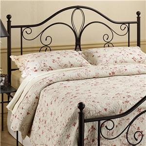 Morris Home Metal Beds Full/Queen Milwaukee Headboard