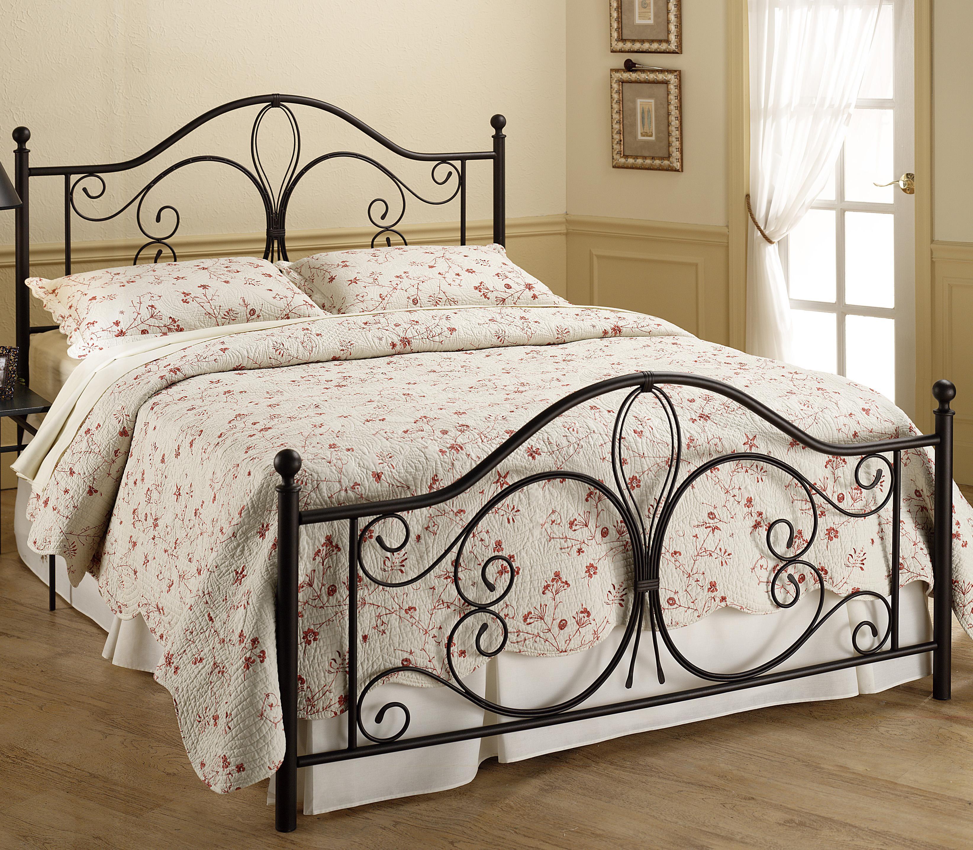 Hillsdale Metal Beds King Milwaukee Bed - Item Number: 1014BKR