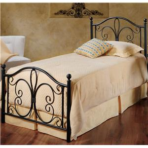 Morris Home Furnishings Metal Beds Twin Milwaukee Panel Bed