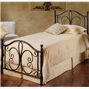 Hillsdale Metal Beds Twin Milwaukee Panel Bed - Item Number: 1014BTWR