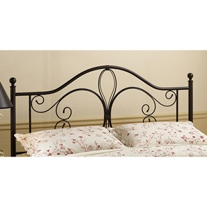 Morris Home Furnishings Metal Beds Full/Queen Milwaukee Headboard