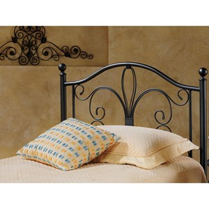 Morris Home Furnishings Metal Beds Twin Milwaukee Headboard