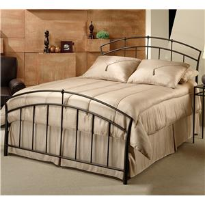 Morris Home Furnishings Metal Beds Queen Vancouver Bed