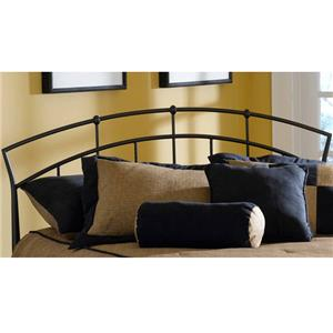 Morris Home Furnishings Metal Beds Full/ Queen Headboard with Rails