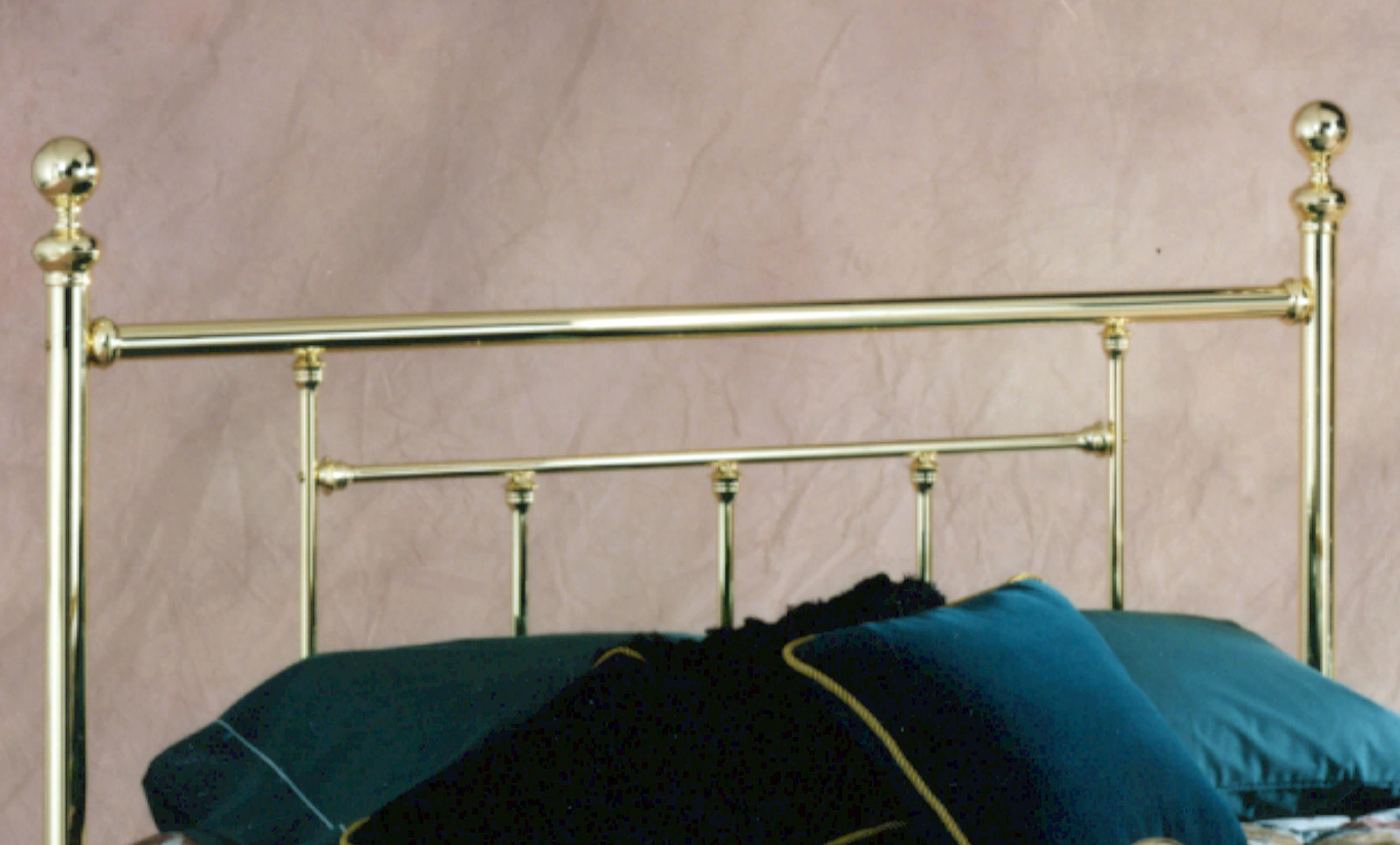 Hillsdale Metal Beds Queen Headboard with Rails - Item Number: 1038HQR