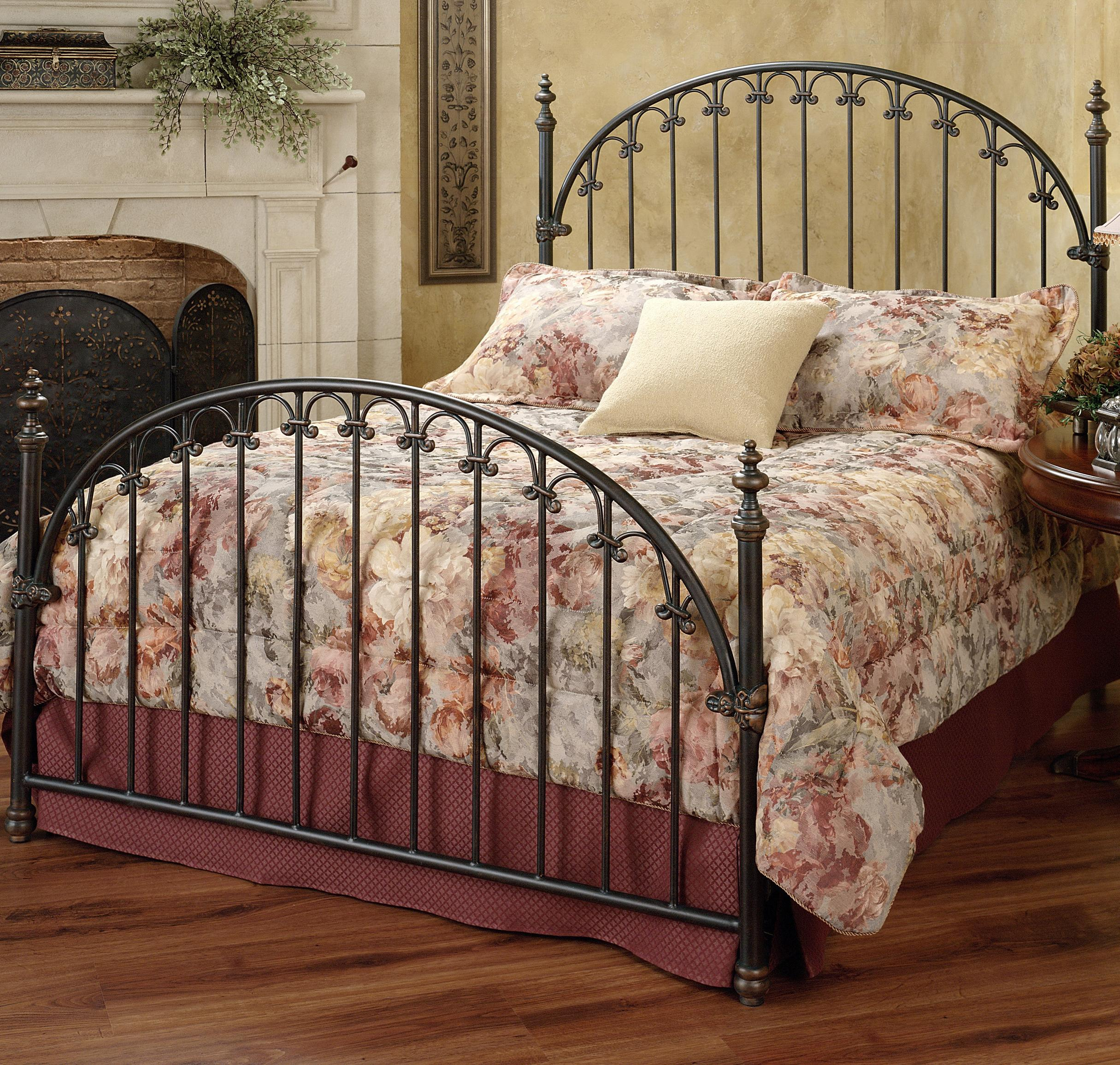 Hillsdale Metal Beds Full Kirkwell Bed - Item Number: 1038BFR