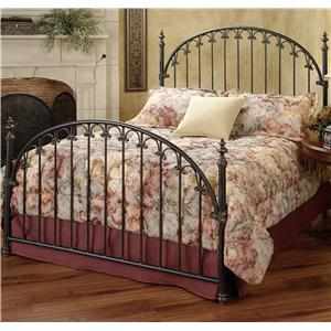 Morris Home Metal Beds Queen Kirkwell Bed