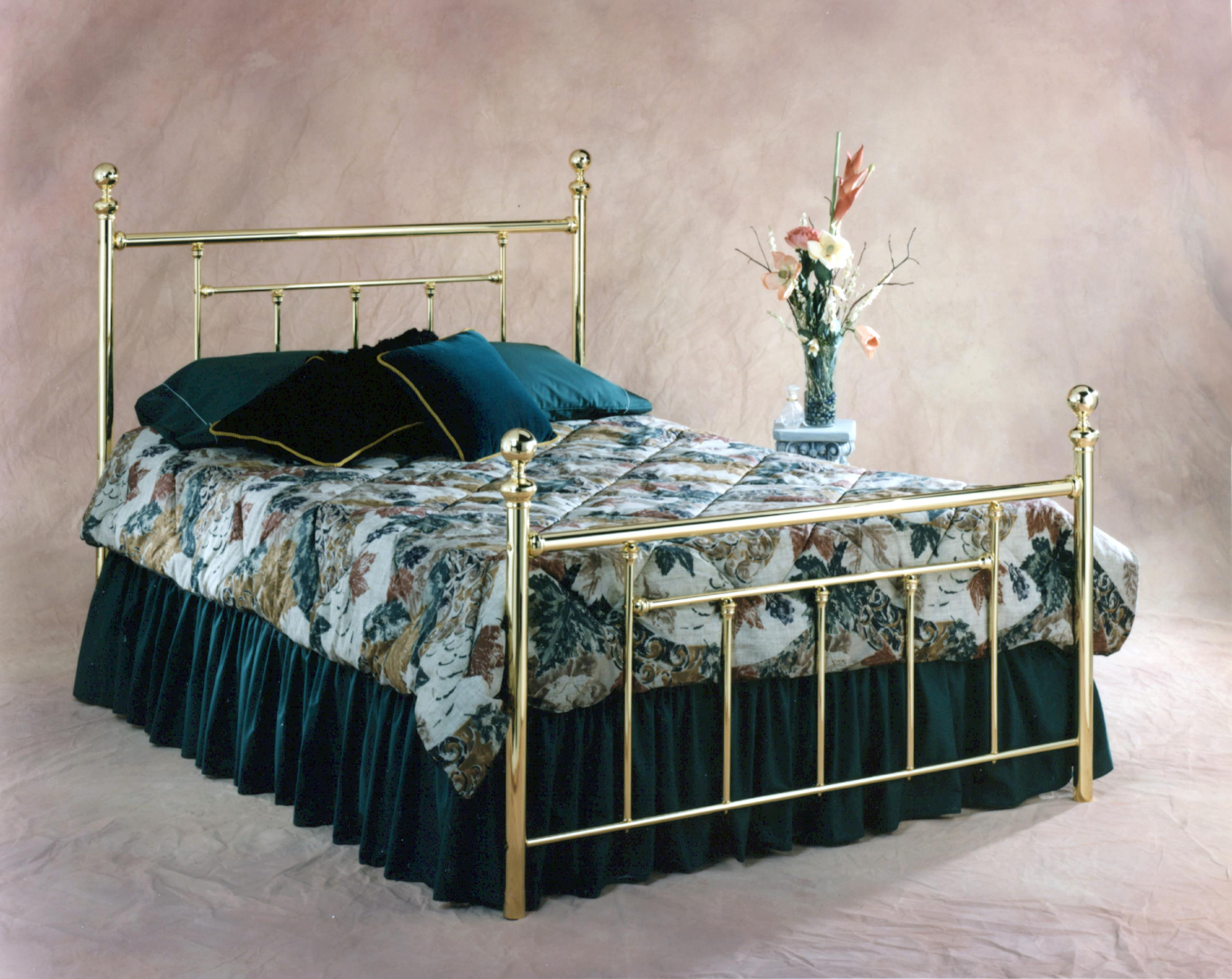 Hillsdale Metal Beds Queen Headboard and Footboard Bed - Item Number: 1038BQR2