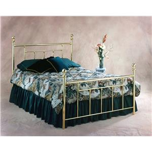 Morris Home Metal Beds Queen Headboard and Footboard Bed