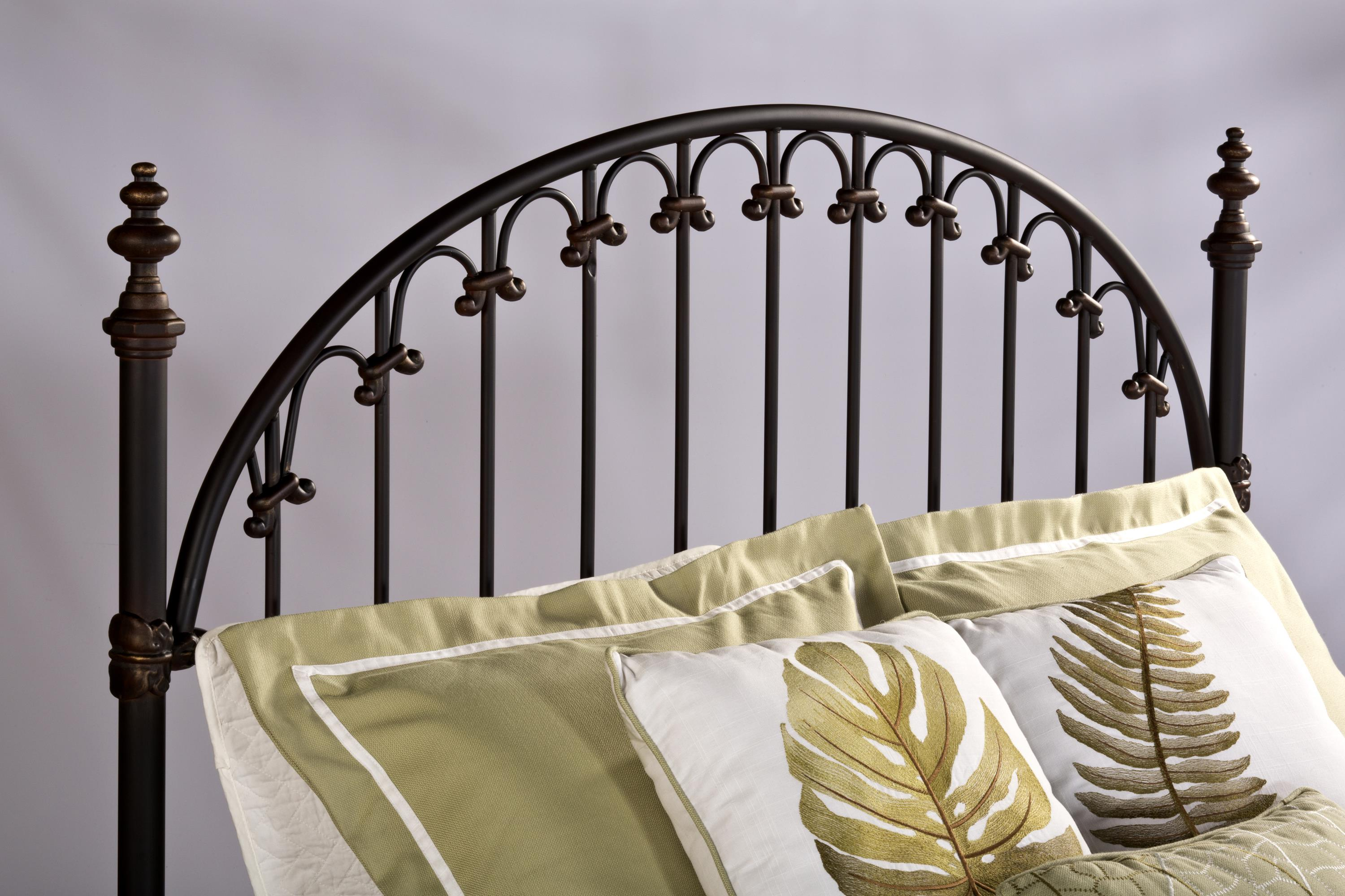 Hillsdale Metal Beds King Headboard with Rails - Item Number: 1038HKR