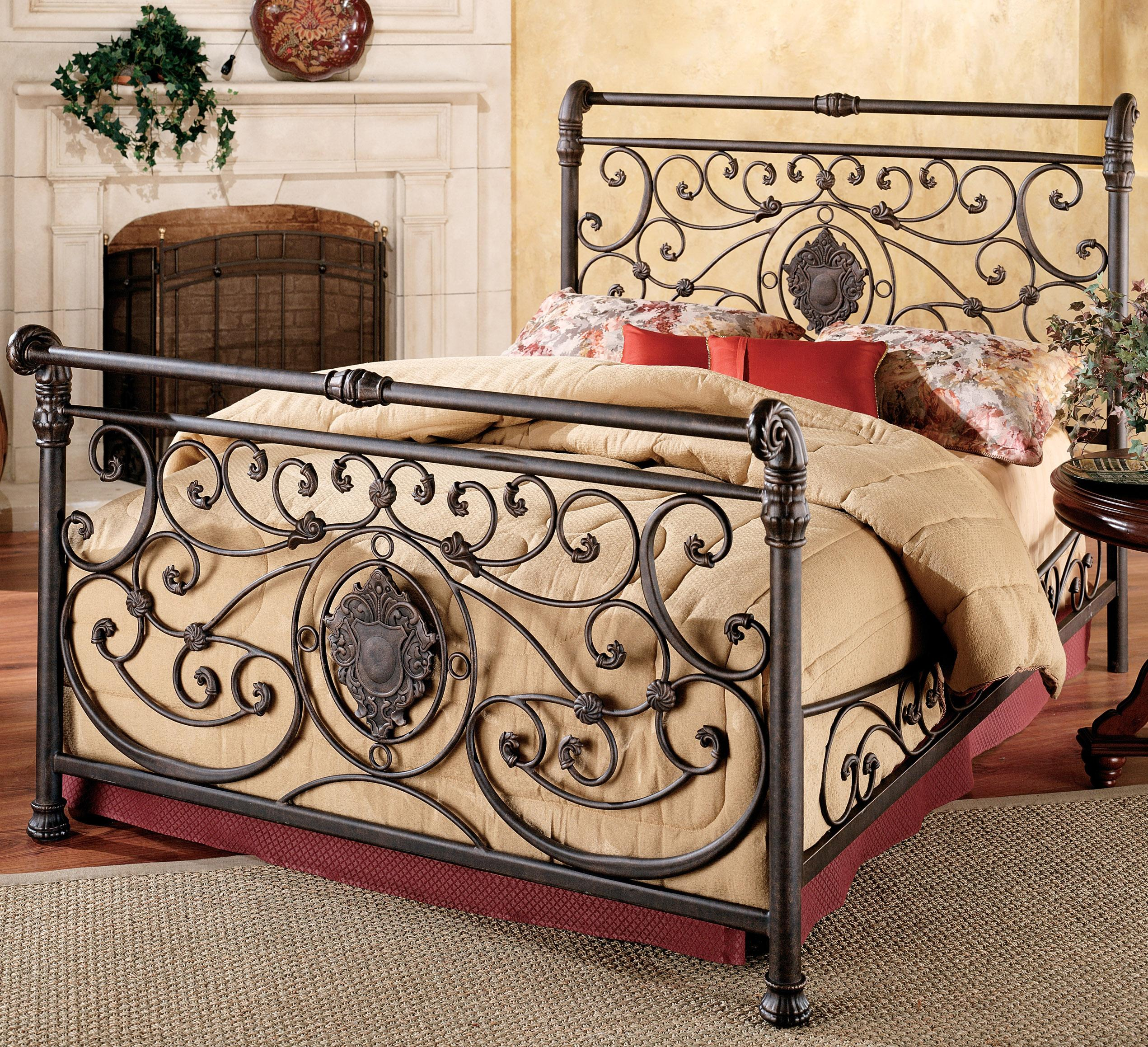 Hillsdale Metal Beds King Mercer Bed - Item Number: 1039BKR