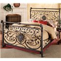 Morris Home Furnishings Metal Beds Queen Mercer Bed - Item Number: 1039BQR