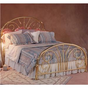 Morris Home Furnishings Metal Beds Queen Jackson Bed