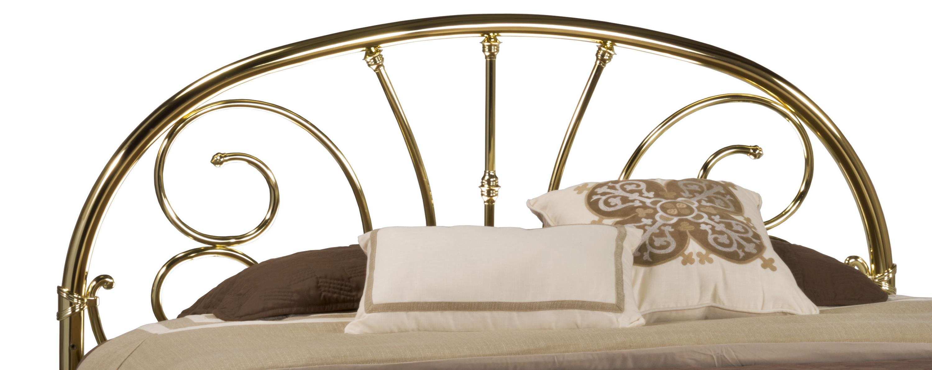 Hillsdale Metal Beds Queen Headboard with Rails - Item Number: 1070HQR