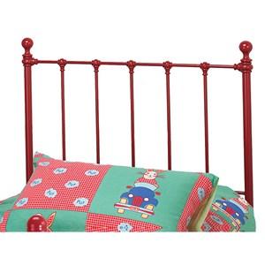 Morris Home Furnishings Metal Beds Twin Molly Headboard