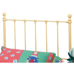 Morris Home Furnishings Metal Beds Twin Molly Headboard