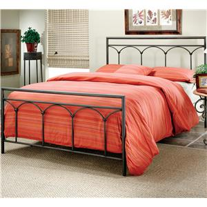 Morris Home Furnishings Metal Beds Queen McKenzie Bed