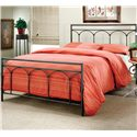 Morris Home Metal Beds King McKenzie Bed - Item Number: 1092BKR
