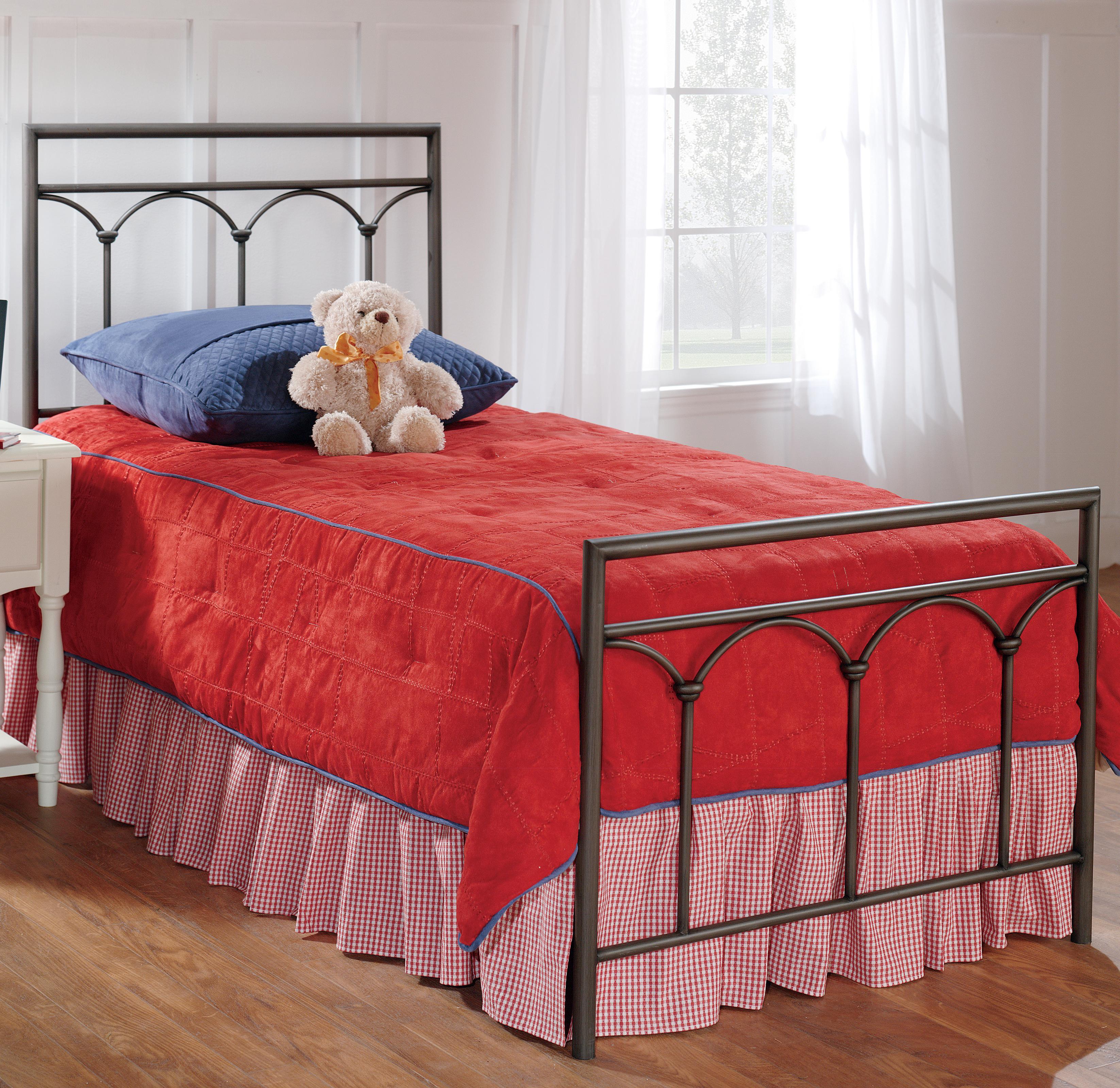 Hillsdale Metal Beds Twin McKenzie Panel Bed - Item Number: 1092BTWR