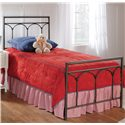Hillsdale Metal Beds Twin McKenzie Panel Bed - 1092BTWR