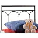 Morris Home Furnishings Metal Beds Twin McKenzie Headboard - Item Number: 1092HTWR