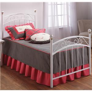 Hillsdale Metal Beds Full Emily Bed