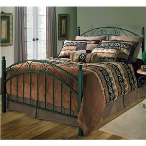 Hillsdale Metal Beds King Willow Bed