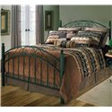 Hillsdale Metal Beds King Willow Bed - Item Number: 1142BKR