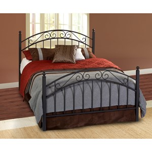 Morris Home Furnishings Metal Beds King Willow Bed Set