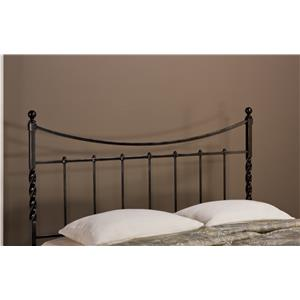 Hillsdale Metal Beds Sebastion King Headboard with Rails