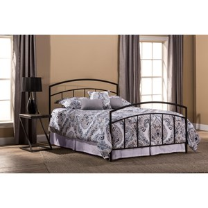 Morris Home Furnishings Metal Beds Full Bed Set with Rails