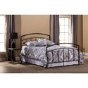 Hillsdale Metal Beds King Bed Set with Rails - Item Number: 1169BKR