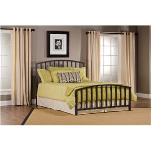 Hillsdale Metal Beds Apollo Queen Bed Set. Rails not Included.