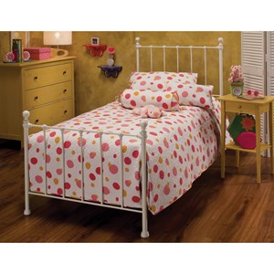 Morris Home Furnishings Metal Beds Queen Molly Bed Set