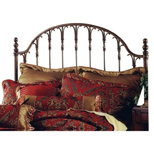Morris Home Metal Beds King Tyler Headboard
