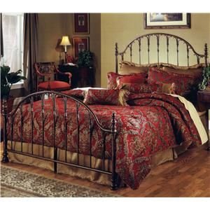 Morris Home Furnishings Metal Beds Queen Tyler Bed