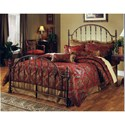Morris Home Furnishings Metal Beds Queen Tyler Bed Set - Item Number: 1239BQ