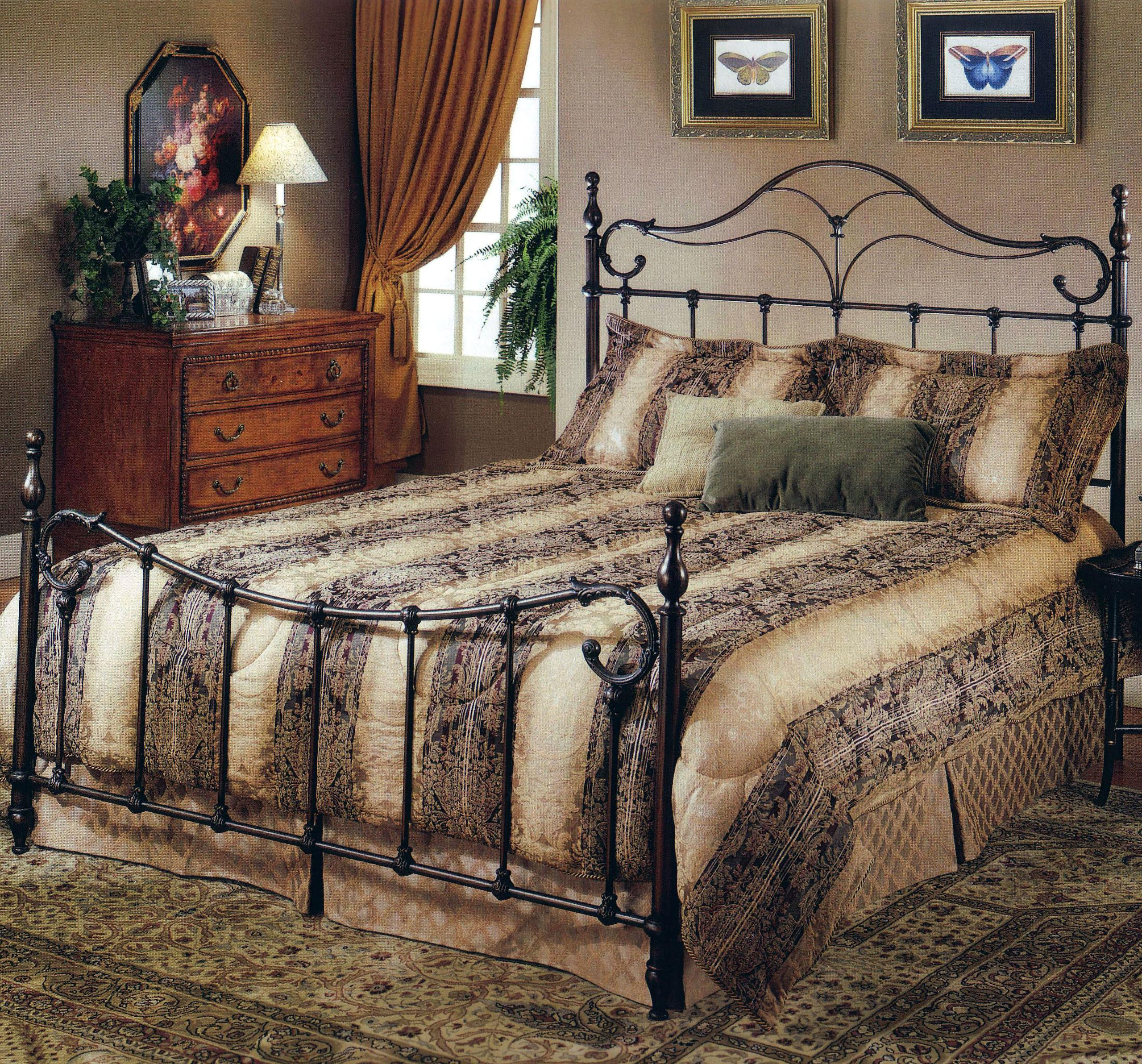 Hillsdale Metal Beds King Bennet Bed - Item Number: 1249BKR
