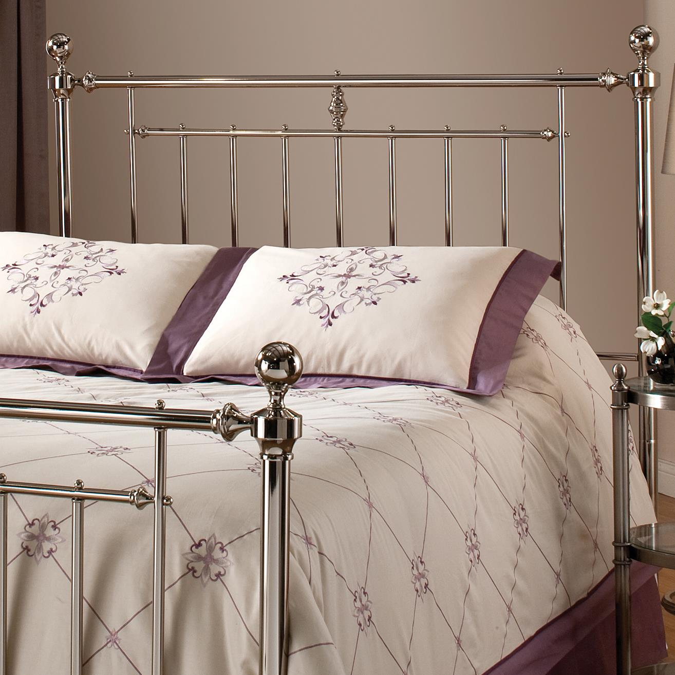 Hillsdale Metal Beds Holland Full/ Queen Headboard Without Rails - Item Number: 1251-490