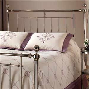 Morris Home Metal Beds Holland Full/ Queen Headboard Without Rails