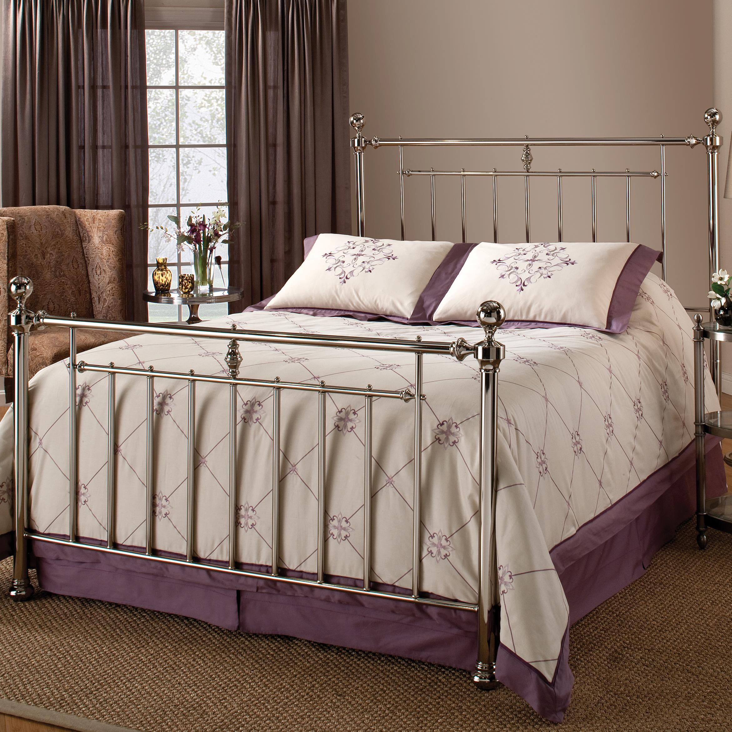 Hillsdale Metal Beds Holland King Headboard with Rails - Item Number: 1251HKR