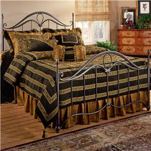 Morris Home Furnishings Metal Beds Queen Kendall Bed