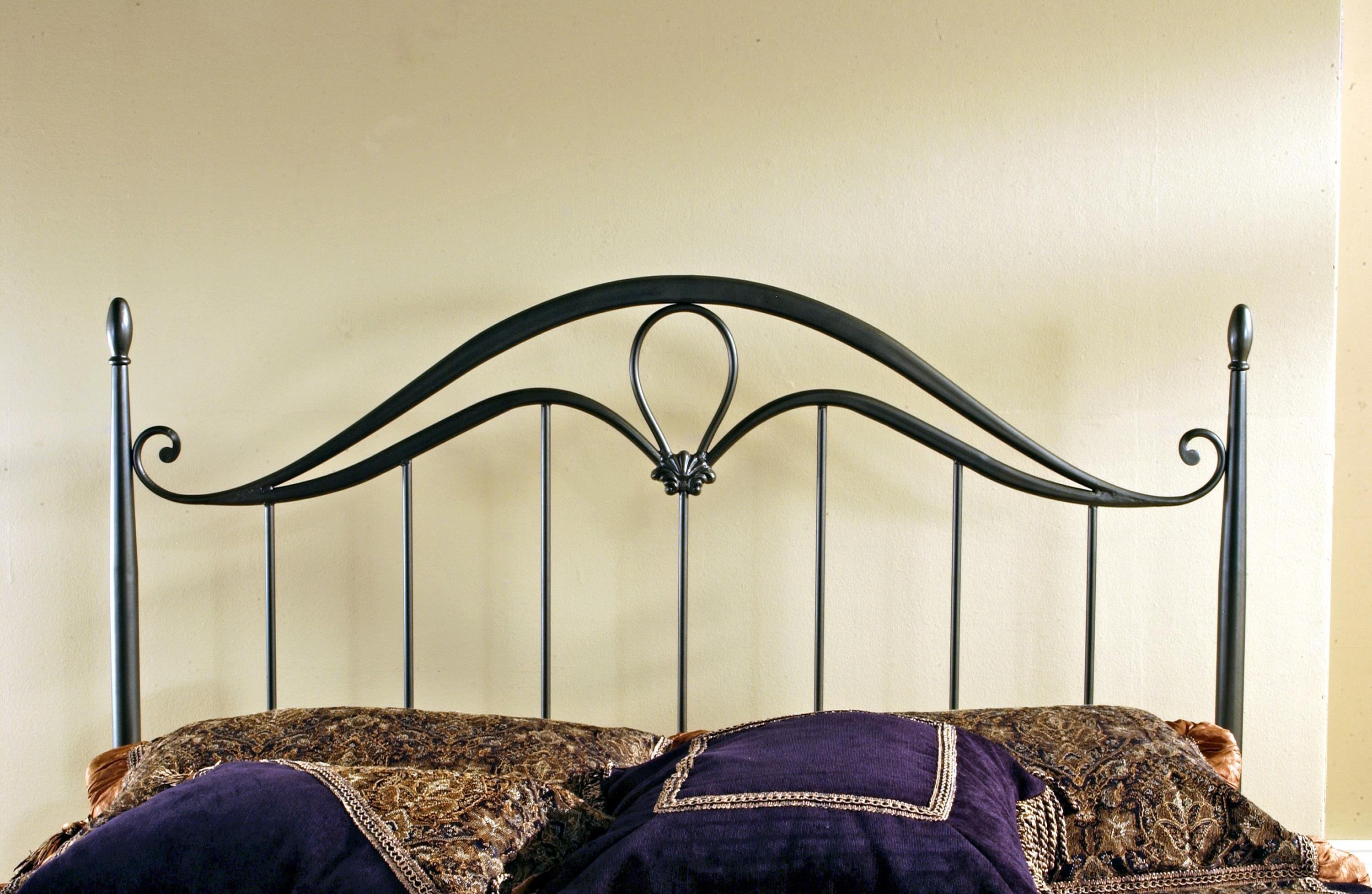 Hillsdale Metal Beds Kendall King Headboard with Rails - Item Number: 1290HKR