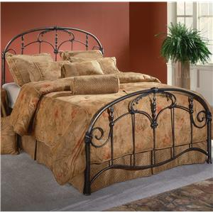 Morris Home Furnishings Metal Beds Queen Jacqueline Bed