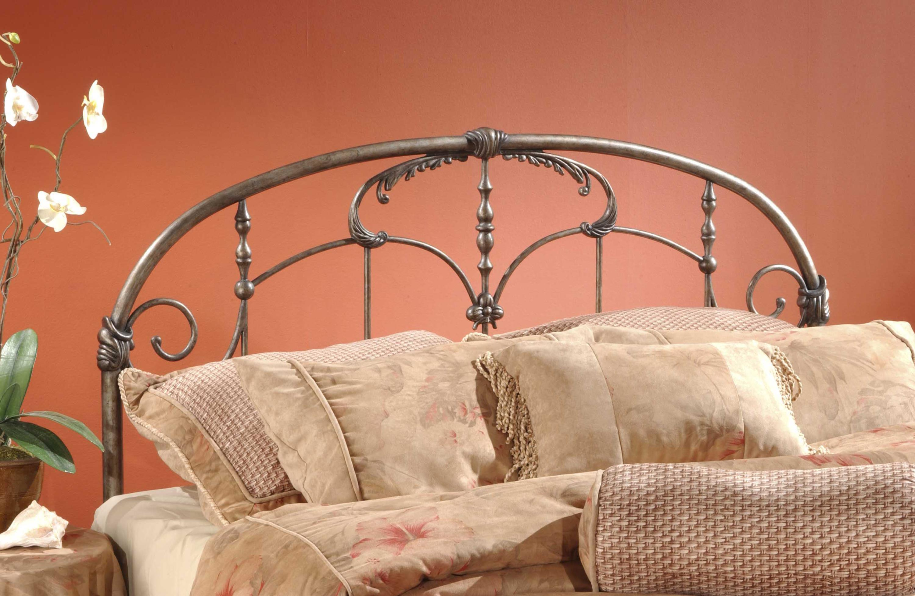 Hillsdale Metal Beds King Headboard with Rails - Item Number: 1293HKR