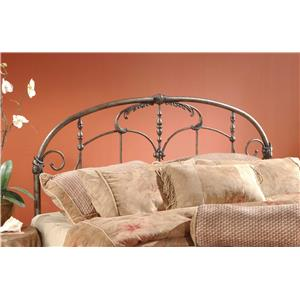 Morris Home Metal Beds Full/Queen Headboard with Rails