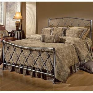 Morris Home Furnishings Metal Beds Queen Silverton Bed